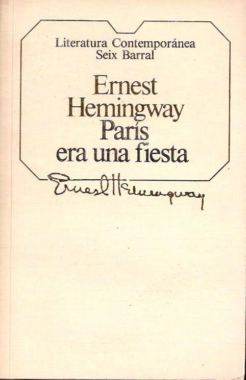 Reseña literaria http://ellibrodurmiente.org/?p=5496 Primer escrito póstumo de Ernest Heminway, en el que se recopilan ideas, pensamientos, anécdotas y sensaciones como hombre y escritor en un París tan atractivo como cruel, que atrajo a intelectuales que convivían entre cafés y encuentros variopintos tras la primera guerra mundial.