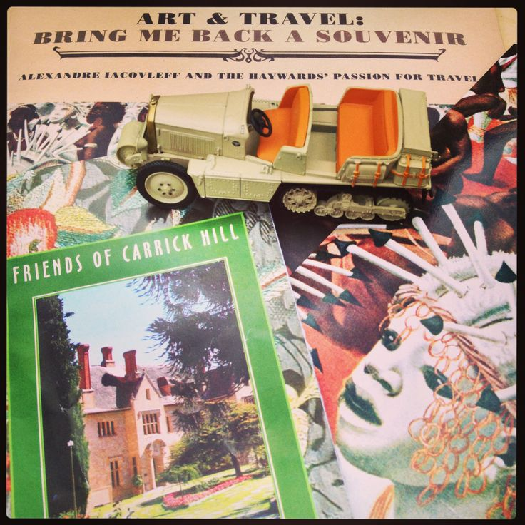 Carrick Hill Thursday 3 April • opening of Art & Travel: bring me back a souvenir • Citroen kegresse crosses Africa and Asia • ethnographer and painter Alexandre Iacovleff