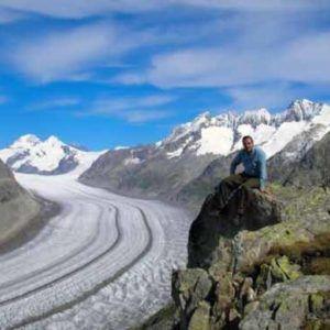 Immagine ghiacciaio Fiesch - Svizzera  FMinerali
