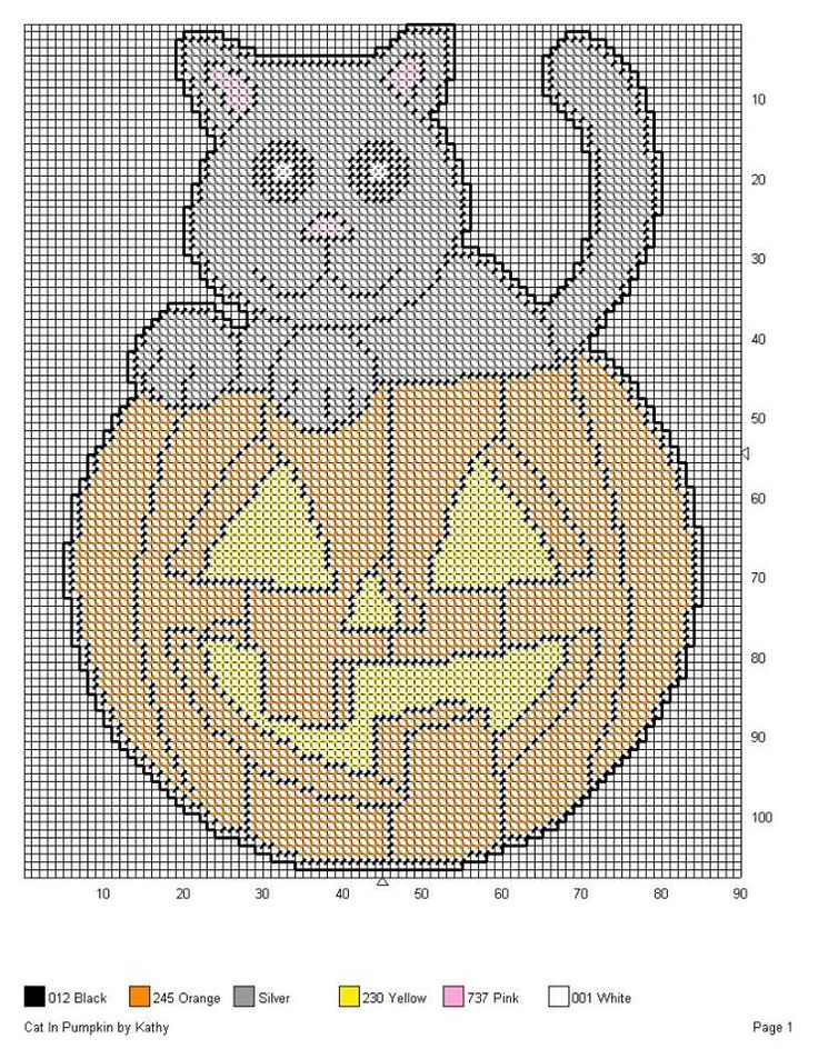 It's just a picture of Accomplished Free Printable Halloween Plastic Canvas Patterns