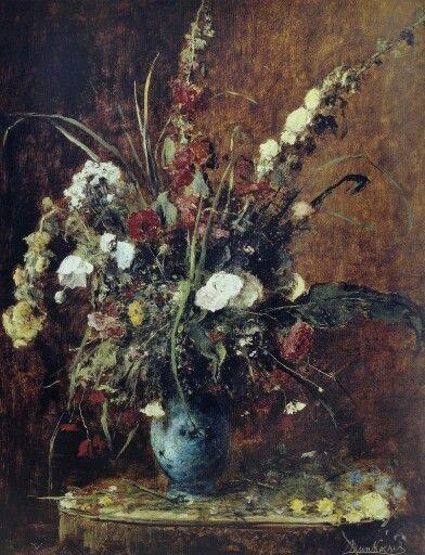 Munkácsy Mihály, Virágcsendélet 1881.