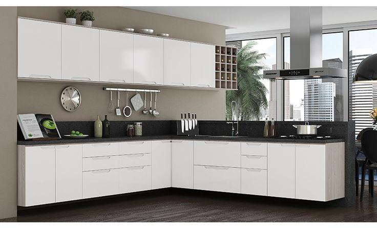 Cozinha Completa Kappesberg Solaris é na Panorama Móveis!