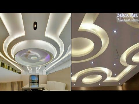 Elegant Latest 50 New Gypsum False Ceiling Designs 2017 Ceiling Decorations Living  And Bedroom   YouTube