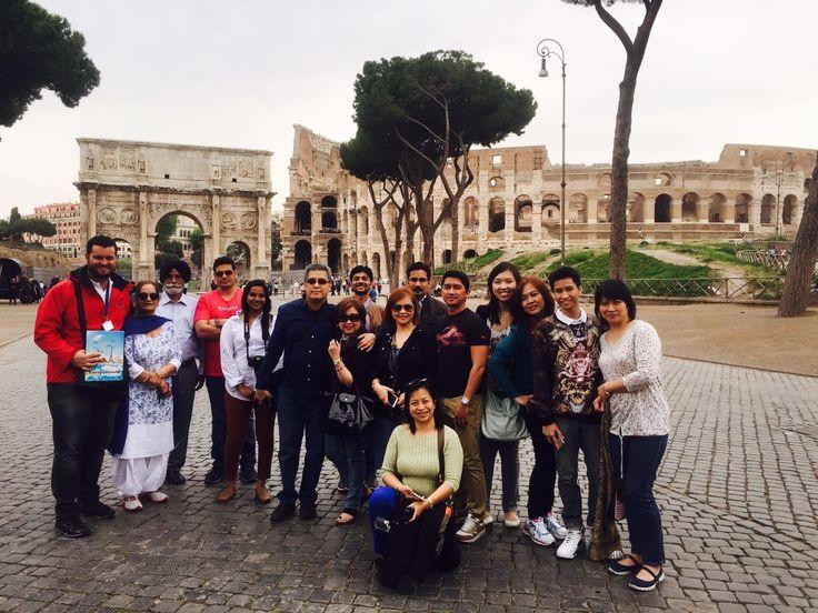 Fotografía: Guía Jon Tojal - Primer grupo English Market - Roma