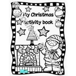 My Christmas activity book Cycle 2 Cahier d'activités de Noël 2e cycle (version anglaise)