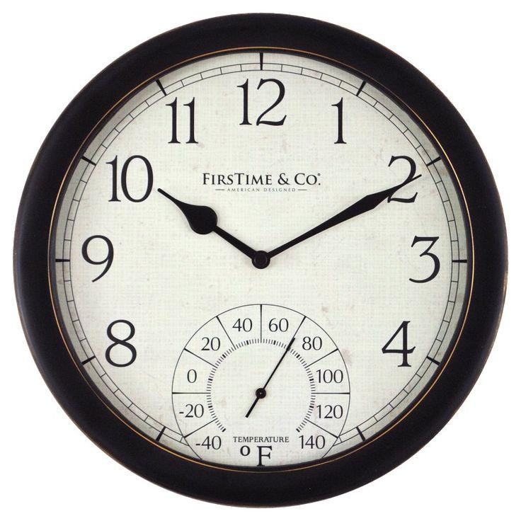 FirsTime Capri Outdoor Clock - 99666