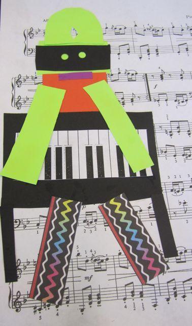 Third Grade Picasso Collage