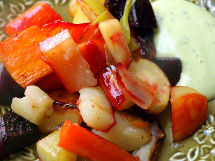 Honey-Roasted Root Vegetables | Dinner With Aura: Photos From My Foo ...