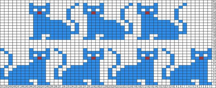 Tricksy Knitter Charts: Cats (78187) by Ransomnia