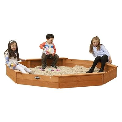 http://www.clicknbuyaustralia.com/product/large-octagonal-sandpit-by-lifespan/ Large #Octagonal #Sandpit By #Lifespan Premium FSC Certified timber with rounded corners for added safety. Alkaline Copper Quaternary treated timber for long term protection against rot, fungal decay and insect attack.