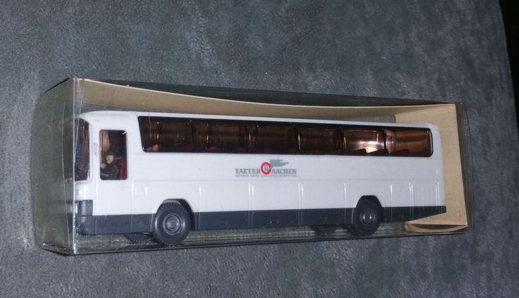 Wiking 24 712, Mercedes Reisebus,O303 RHD, Taeter Aachen ,H0, 1:87 neuwertig,OVP
