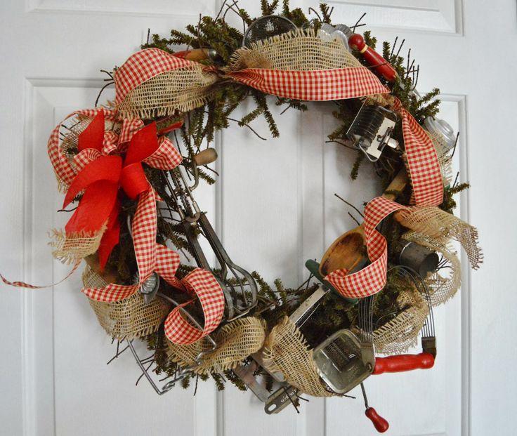 81 Best Wreaths-Kitchen Images On Pinterest