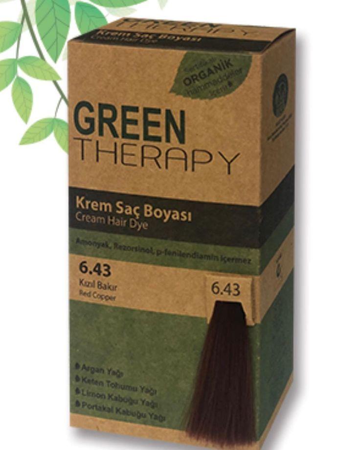 صبغة Green Therapy صبغة بمكونات طبيعية خالية من الأمونيا التي تسبب تهيج في فروة الرأس والحروق يحتوي عل Black Natural Hair Care Hair Color Black Hair Care