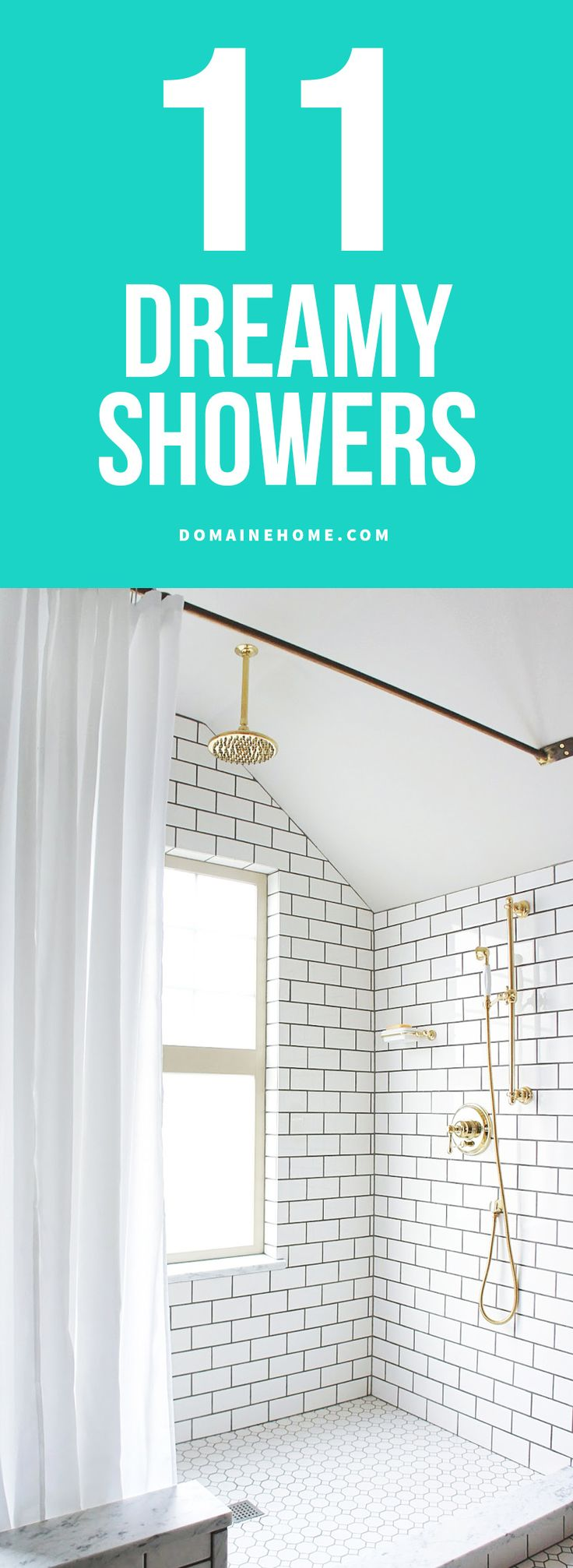 Beautiful showers from homes around the world to inspire a redesign.