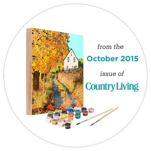 11 best ready to paint kits images on pinterest paint by for Easy 123 art com country living