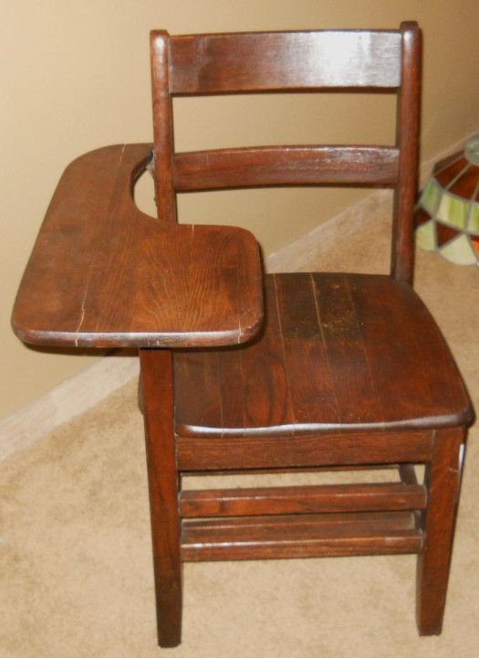 Vintage School Desk Chair - Ideas to Decorate Desk - Vintage School Desk Chair - Ideas To Decorate Desk Simple Home