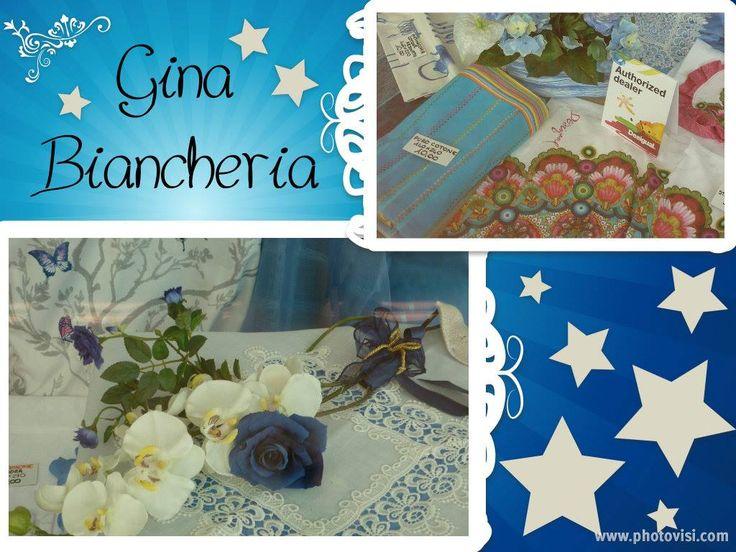 Gina Biancheria #notteceleste