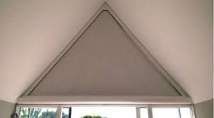 Image Result For Curtains Triangular Window