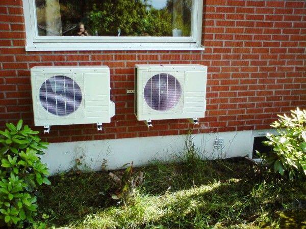 Haustechnik - Eigenbau Luft-Wasser Wärmepumpe