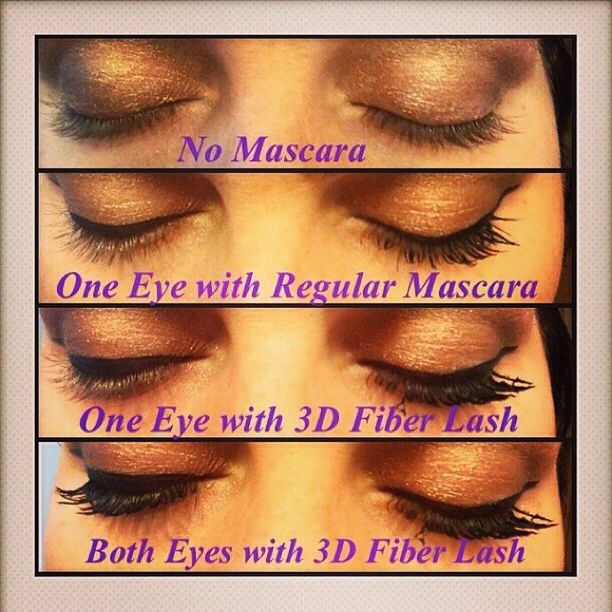 This is what Moodstruck 3-D Fiber Lashes will do for you too...