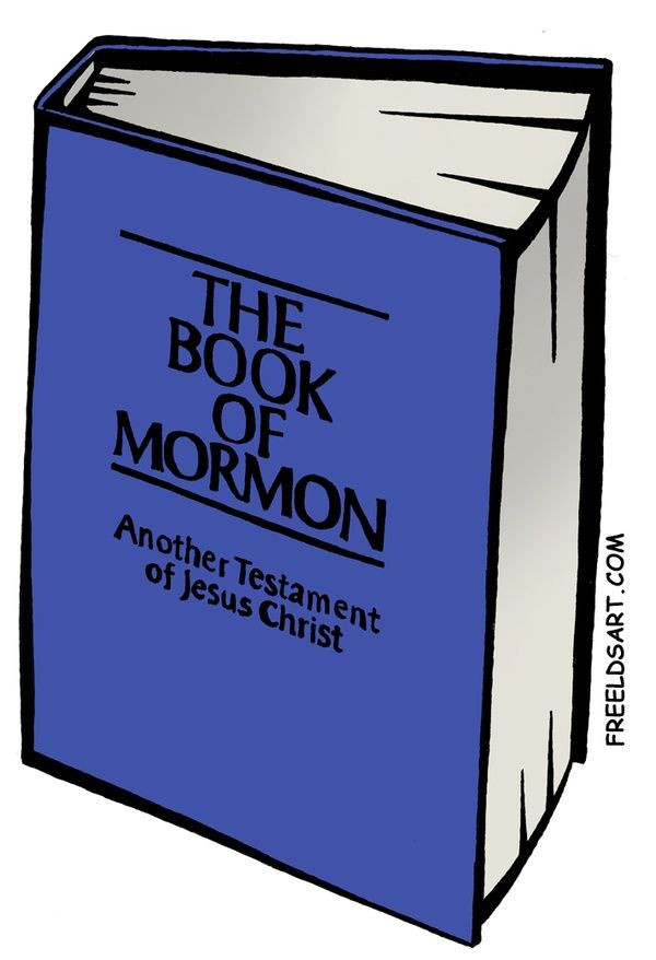 clipart of the book of mormon - photo #2