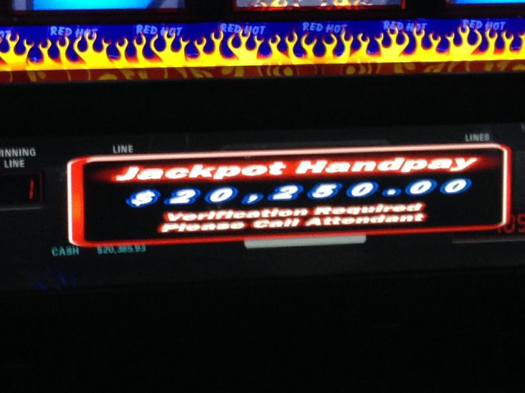 Jackpot hit for over $20,000 at Empire City Casino!