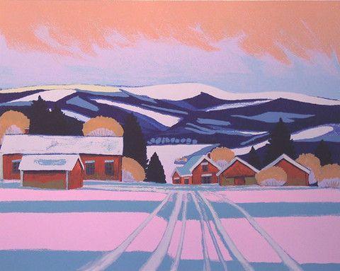A Village in Lappland - Juhani Palmu