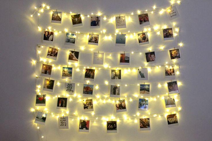 Simple Polaroid Wall