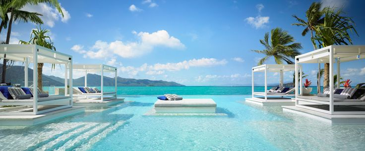 A pool with a view!