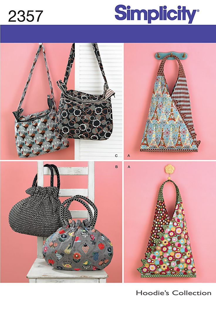 Simplicity 2357. Purses!! How fun is that?