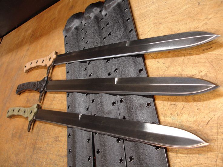 Tactical swords...