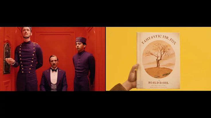 Red & Yellow: A Wes Anderson Supercut on Vimeo