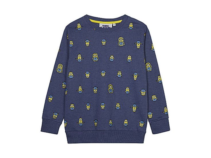 FABRIC FLAVOURS Minions characters cotton-blend jumper 3-8 years