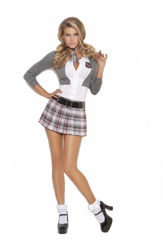 Preppy Halloween Costumes .Queen Of Detention School Girl Costume available at Teezerscostumes ...