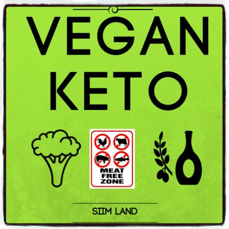 ketogenic diet as a vegan