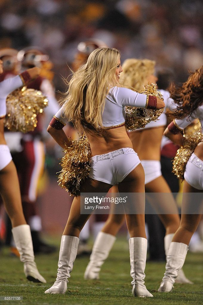 Think, you Redskins cheerleaders big butt shall afford