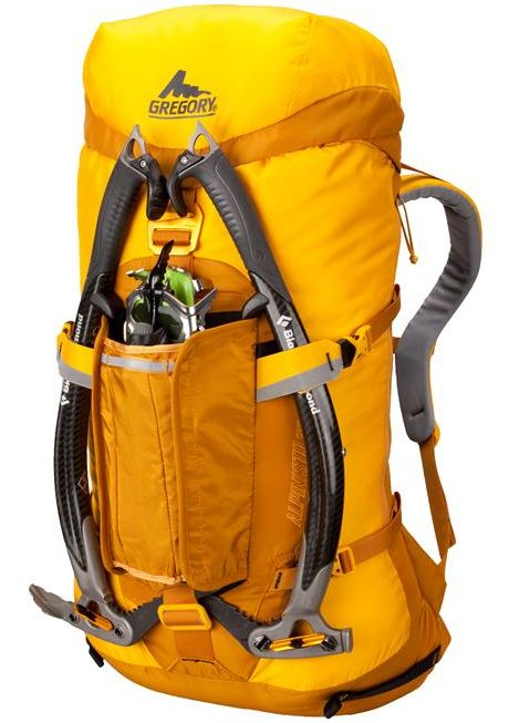 New ice climbing pack from Gregory.
