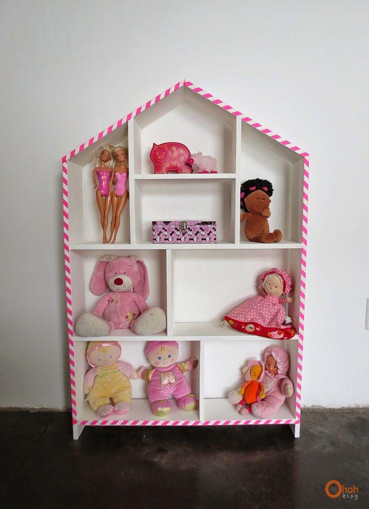 Ohoh Blog - diy and crafts: House shelf makeover