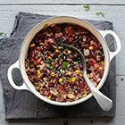 Een heerlijk recept: Snelle chili con carne met kidneybonen
