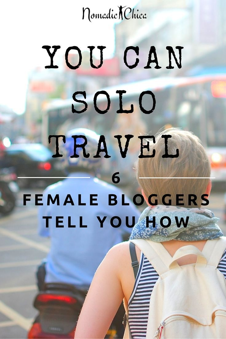 We tell you with our experience you don't really need someone  else to travel with you, you can do it yourself and have an amazing experience! GO GIRL!! Click the pin to read more about this #solotravel #female #woman