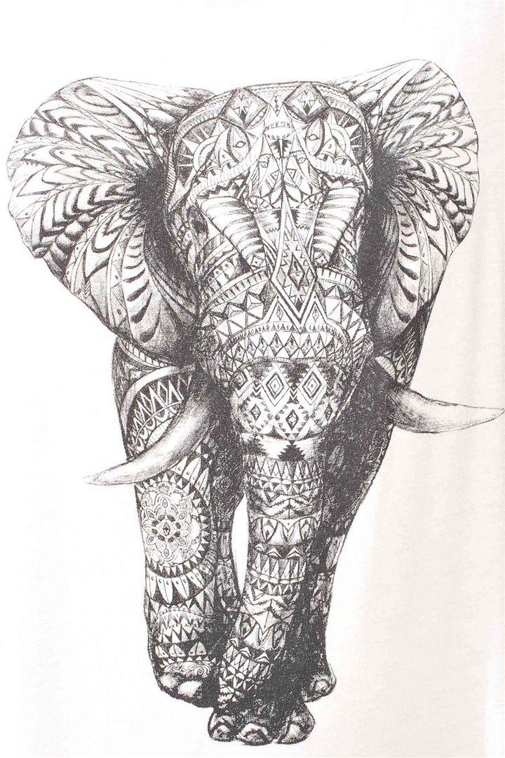 Lucky Elephant Tank - Ivory