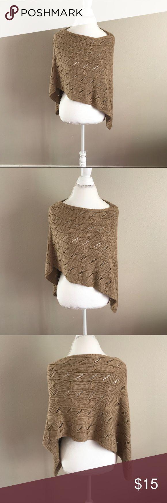 Ann Taylor Loft Sweater Shawl Ann Taylor Loft Sweater Shawl. One Size. Like new condition. LOFT Sweaters Shrugs & Ponchos