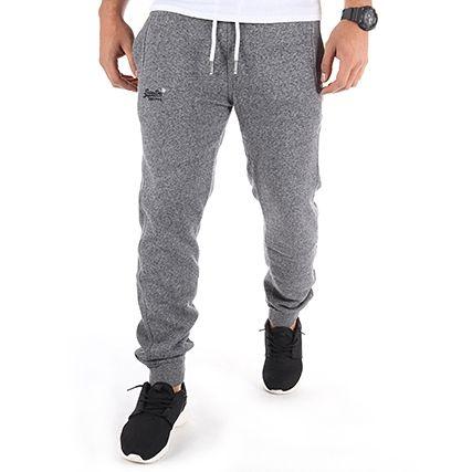 Superdry - Pantalon Jogging Orange Label Slim Jogger Gris Chiné -  LaBoutiqueOfficielle.com