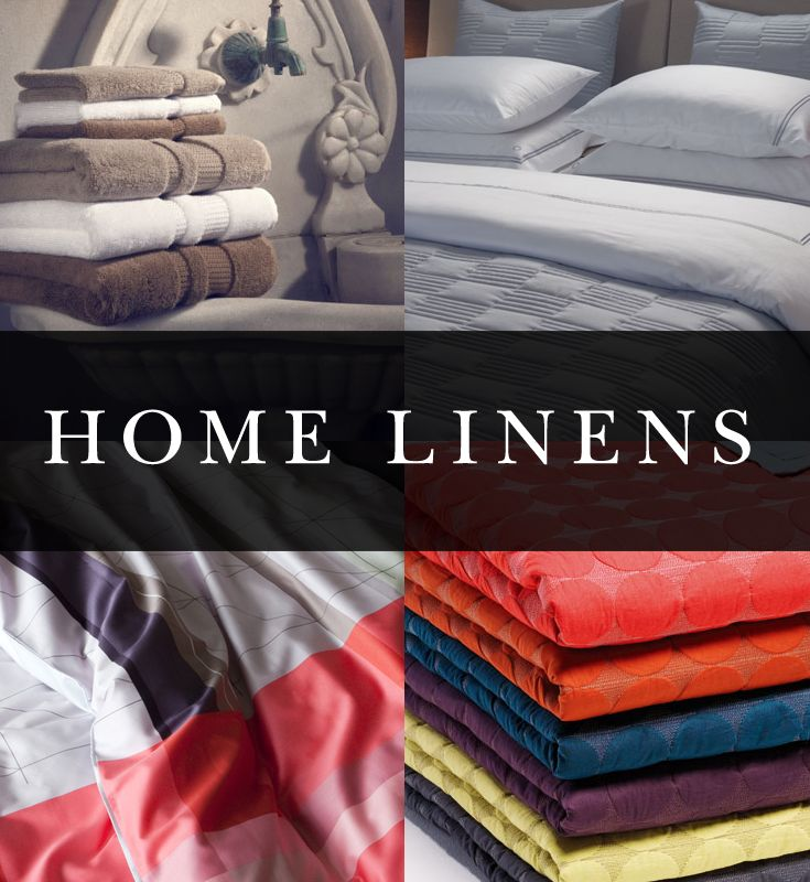 Comfort is a given when it comes to home linens. What we feel when we touch our linens is what counts the most, as the part of our homes that we regularly use. From bed linens to towels to table cloths, all of our home linens have been chosen for their soft and simple qualities.