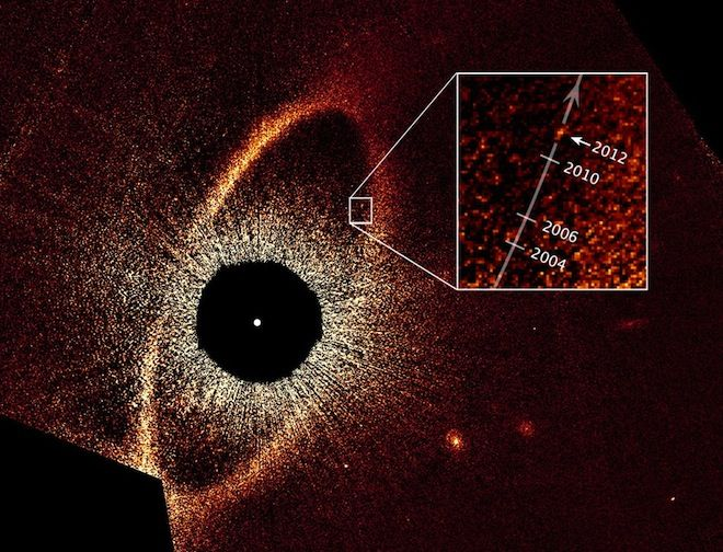 "Astronomers have confirmed Fomalhaut b actually exists and have calculated its potential orbit. The results are stranger than scientists could have imagined, dubbing it a ""rogue planet circling the Eye of Sauron""."