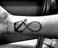 Tattoos on Pinterest | Infinity Anchor Anchor Infinity Tattoos and A ...