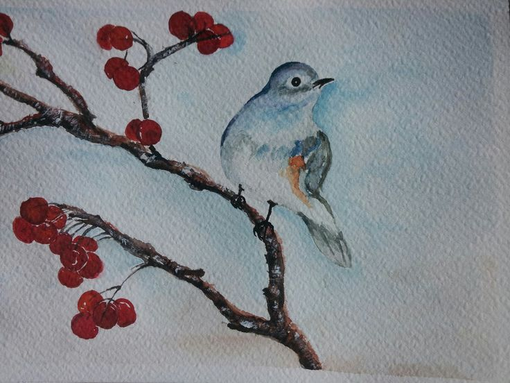 Watercolour painted by Ariela Salcini