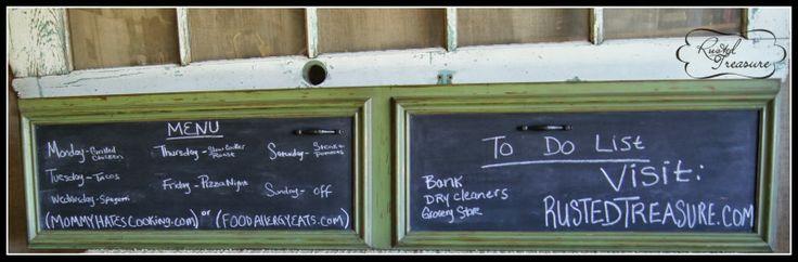 DIY Chalkboard Paint - http://www.rustedtreasure.com/2013/09/diy-chalkboard-paint_24.html