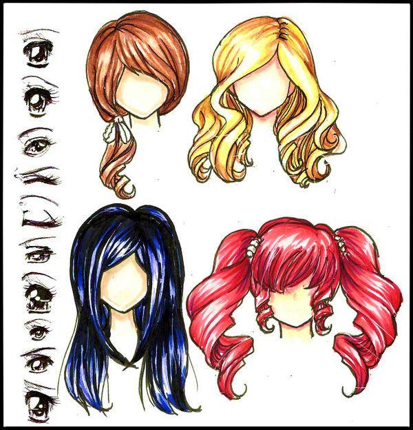 17 Best Ideas About Anime Hair Color On Pinterest Art Anime Hair Color