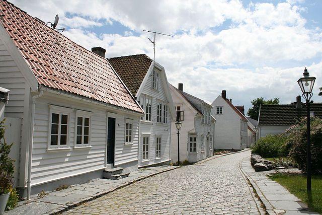 Gamle Stavanger (Old Stavanger) This photo by Jarle Vines.